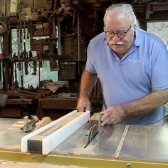 Part 2 of my Master Series on Alf Sharp is now up (link in bio ). In this episode I talk with Alf about the Process of a Woodworker. He shares his advice to befinners thoughts on hand tools vs power tools woodworking education and the art of finding the best use for a piece of wood. Go check it out and if you haven't seen Part 1 make sure you watch that too!  Big thanks again to @powermatic.woodworking for helping connect Alf and I and supporting this video.  #powermatic #masterseries…