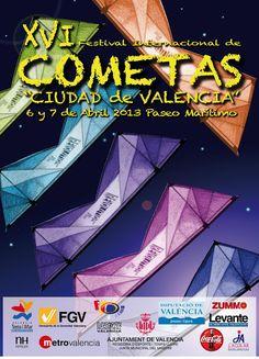 XVI Festival Internacional de Cometas de Valencia Qué hacer en #Valencia en Pascua (Puente de San Vicente)