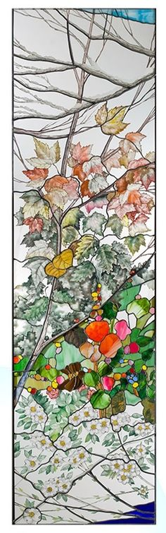....Four Seasons Window...i want to learn how to make stained glass