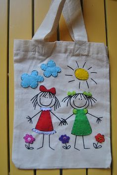I tell you in felt- Ich sage es Ihnen in Filz I tell you in felt, - Tote Bags Handmade, Diy Tote Bag, Fabric Crafts, Sewing Crafts, Sewing Projects, Patchwork Bags, Quilted Bag, Patchwork Quilting, Bag Quilt