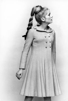 Catherine Deneuve, a French style icon