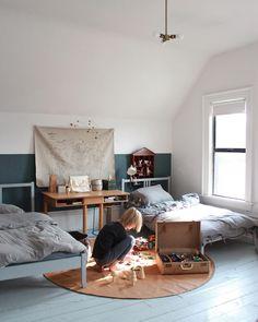 Mer Mag Shared Kids Rooms Corner Toddler Kidsroom Kid Spaces