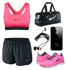 """Sin título #87"" by hipster999 ❤ liked on Polyvore featuring NIKE and Forever 21"