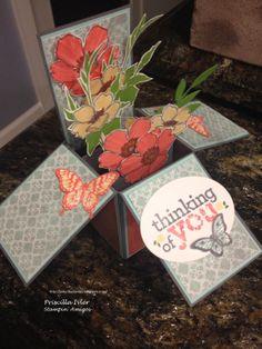 A card in a box Fabulous Florets, Kind & Cozy, Papillon Potpourri