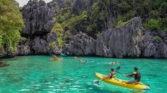 El Nido really is a paradise. From its marble cliffs to its pristine sandy beaches with crystal clear water. Check out some basic information about El Nido. El Nido Palawan, Coron Palawan, Philippines Palawan, Philippines Travel, Aj Styles, Krabi, Palawan Island, Kayaking Tips, Paradise On Earth