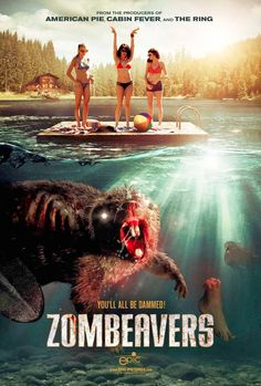 How did I miss this movie? Here's a ridiculously funny trailer for a silly movie called Zombeavers