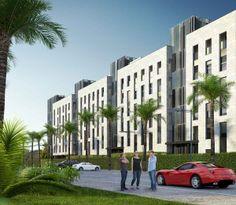 Render de arquitectura residencial en Ibiza