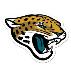 Jacksonville Jaguars NFL Automotive Grille Logo on the GOGO