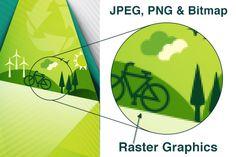 Printing Vector vs JPEG and Bitmap Graphics #graphicdesign #printing #jpg #vector
