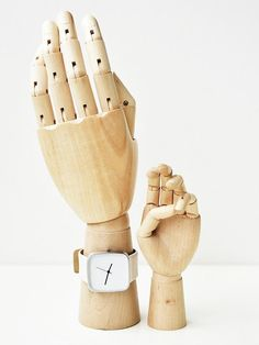 Wooden hand from Hay. Price form 129 dkk