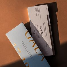 Elegant and modern packaging design with gold foil and letterpress type with shadows. Invite Design, Label Design, Print Design, Web Design, Type Design, Package Design, Stationery Design, Modern Design, Packaging Design Inspiration