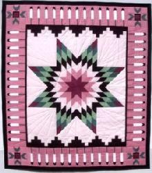 quilt patterns native american designs | Star Quilts in Early America and Native American Quilting