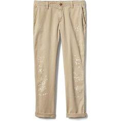 Designer Clothes, Shoes & Bags for Women Tall Pants, Khaki Pants, Paint Splatter Jeans, Gap Women, Woman Painting, Slim Legs, Pajama Pants, Trousers, Shopping