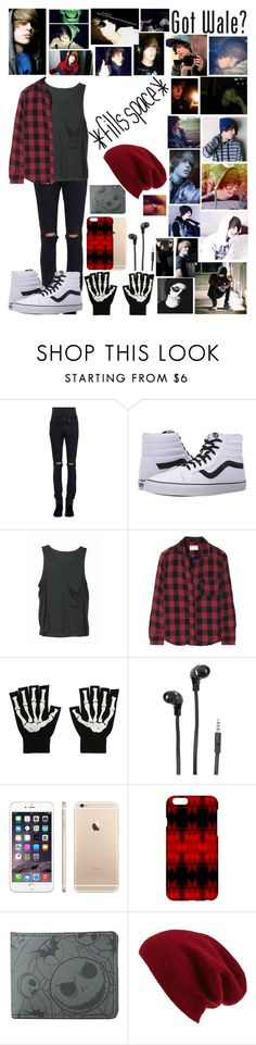 """""""Jeydon Wale"""" by i-am-the-one-and-only ❤ liked on Polyvore featuring Yves Saint Laurent, Vans, INDIE HAIR, rag & bone, Merkury, Halogen, men's fashion and menswear"""