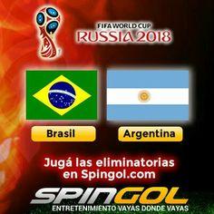 Hoy jugamos #Brasil vs #Argentina