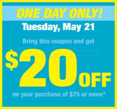 Shoppers Drug Mart Coupon: $20 Off WUS $75!
