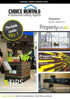 March 2015 Issue of the Choice Rentals PropertyInfo4U magazine
