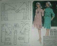 Barbie Patterns, Coat Patterns, Vintage Sewing Patterns, Clothing Patterns, Dress Patterns, Couture, Barbie Vintage, Patron Vintage, Plus Size Maxi
