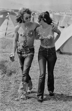 The Isle of Wight Festival 1969.
