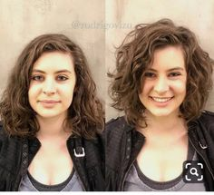 Do you like your wavy hair and do not change it for anything? But it's not always easy to put your curls in value … Need some hairstyle ideas to magnify your wavy hair? Medium Hair Cuts, Medium Hair Styles, Curly Hair Styles, Medium Curls, Haircuts For Wavy Hair, Curly Bob Hairstyles, Curly Lob Haircut, Medium Curly Haircuts, Casual Hairstyles