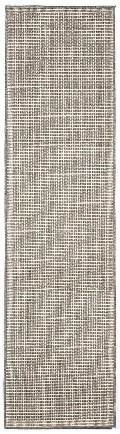 Terrace Texture Silve/Ivory Indoor/Outdoor Area Rug