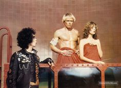 The Rocky Horror Picture Show - Lobby card with Susan Sarandon, Tim Curry & Peter Hinwood