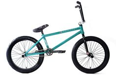 Division Fortiz Complete BMX Bike Gloss Teal 2017 – Bakerized Action Sports