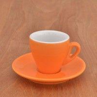 """Espresso cup Nuova Point """"Milano"""" orange"""