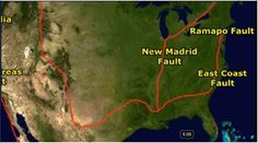 US earthquake fault line map Its Brilliant to be Smart