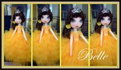 OOAK Art Doll by Ring A Rosie https://www.facebook.com/RingRosie?ref=hl Princess Belle