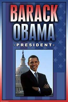 Barack Obama. President.