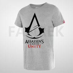 Assassin's Creed Unity Logo Cool T-Shirts Unity Logo, Assassin S Creed Unity, Assassin's Creed, Key Chain, Cool T Shirts, Cool Stuff, Logos, Mens Tops, Shopping