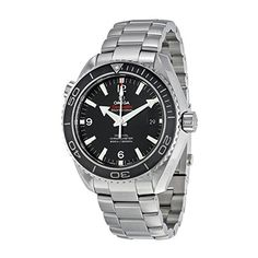 Men's Wrist Watches - Omega Seamaster Planet Ocean 600 Meters CoAxial Black Dial Mens Watch Model23230462101001 * See this great product. (This is an Amazon affiliate link)