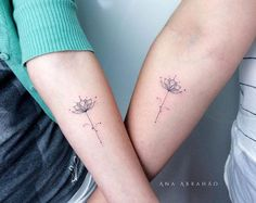 Matching lotus flowers by Ana Abrahao