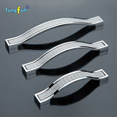 13.45$ (More info here: http://www.daitingtoday.com/high-quality-96mm-128mm-160mm-modern-furniture-handles-silver-kitchen-cabiner-drawer-pull-dresser-cupbord-wardrobe-door-handle ) High Quality 96mm 128mm 160mm modern furniture handles silver kitchen cabiner drawer pull dresser cupbord Wardrobe door handle for just 13.45$