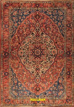 Mollaian Tappeti, Bakhtiari saman d'epoca Persia 320x218