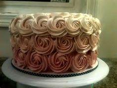 Sweet Treats by Jen: Buttercream Rose Cake