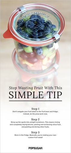 Delicious fruit is a healthy snack that can be enjoyed all summer long, which is why wasting fruit should be prevented. Our simple tip will help you get a better shelf life out of the fruit you've picked up at the market. Find out how to salvage your produce purchase by following these easy steps.