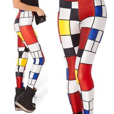 2016 Color Plaid Women Legging Woman Adult Leggings Jeggings Legging Pants Sexy Printed Leggings #Affiliate
