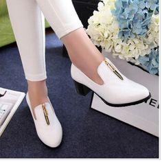zapatos oxford con cremayera de mujer - Google Search