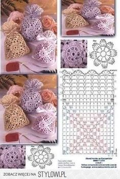 Marvelous Crochet A Shell Stitch Purse Bag Ideas. Wonderful Crochet A Shell Stitch Purse Bag Ideas. Crochet Sachet, Crochet Pouch, Crochet Chart, Crochet Gifts, Crochet Doilies, Crochet Flowers, Crochet Bags, Mode Crochet, Crochet Home