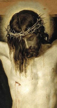 Jesus Christ Died for you... Do you know him yet?...check him out. Cristo, (detalle) de Velazquez A sacred online space at http://www.godismyguide.com