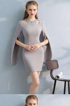 Discount Luscious Homecoming Dress With Sleeves, Prom Dresses Short Short Prom Dresses, Long Sleeves Homecoming Dresses, Prom Dress, Homecoming Dresses Homecoming Dresses 2019 Green Homecoming Dresses, Long Sleeve Homecoming Dresses, Prom Dresses With Sleeves, Short Dresses, Formal Dresses, Beautiful Prom Dresses, Simple Dresses, Dress Dior, Dress Red