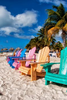 Aruba beach -- Imagine vacationing FULL TIME when you don't have to worry about money...