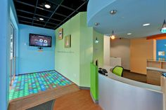 I installed this dance floor (and Xbox kinect) at my brother's dental office (scripps pediatric dentistry)