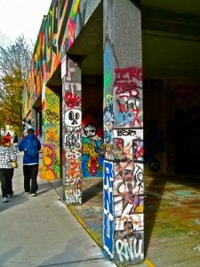 Where you can spray paint without getting fined. Graffiti Garage, Tacoma