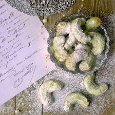 Pistáciové rohlíčky | Coolinářka Cooking Ideas