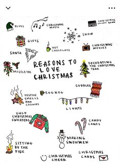 P I N T E R E S T ✧@themissnicolina.com✧ Here are some reminders why the festive season is so much fun! #christmas #spirit
