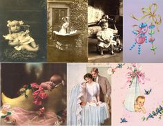 By Vintage Design: Free Collage Sheets