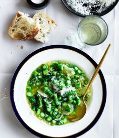 This classic Italian asparagus and rice soup is silky, healing and totally satisfying while the asparagus provides a much needed crunch to the broth.